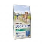 DOG CHOW LIGHT DINDE 14KG