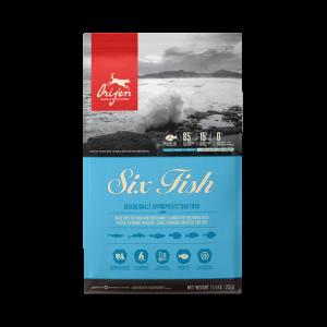 ORIJEN CHIEN 6 FISH 11,4 KG