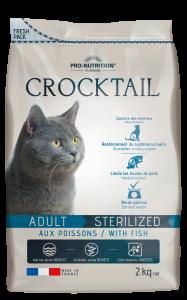 CROCKTAIL ADULT POISSON STERILISE 2KG